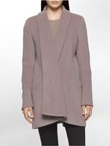Calvin Klein Luxe Basketweave Coat