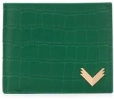 Manokhi crocodile embossed wallet