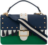 Liu Jo two-tone studded shoulder bag