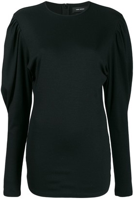 Isabel Marant Ruched Sleeve Top