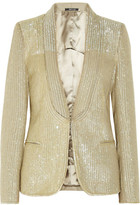 Maison Martin Margiela Sequined wool blazer