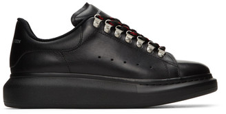 Alexander McQueen Black Hybrid Hiking Sneakers