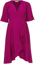 Studio 8 Nola Wrap Jacquard Dress