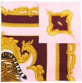 Versace Tiger print scarf