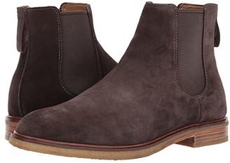 Clarks Clarkdale Gobi (Dark Brown Suede) Men's Pull-on Boots