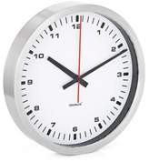 Blomus Stainless Steel Large Wall Clock in White