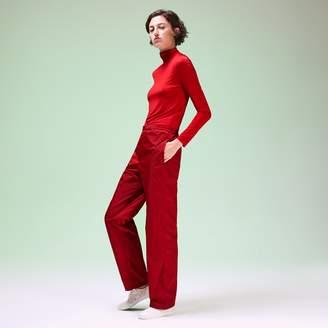 Lacoste Unisex Fashion Show Turtleneck Wool T-Shirt