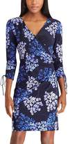 Chaps Petite Floral Jersey Sheath Dress