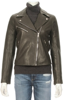 Doma Classic Leather Moto Jacket