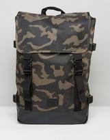 Asos Backpack In Camo