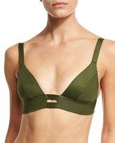 Vitamin A Neutra Bralette Swim Top, Green