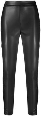 Ermanno Ermanno Cropped Coated Leggings