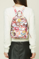 Forever 21 FOREVER 21+ Donut Graphic Backpack