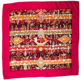 Hermes Rives Fertiles Silk Scarf
