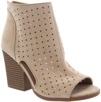 Rampage Vionna Perforated Booties Women Shoes
