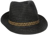 San Diego Hat Company Women's Panama Hat with Contrast Inset