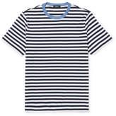Theory Striped Cotton T-Shirt
