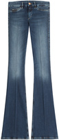 MiH Jeans Skinny Marrakesh Flared Jeans