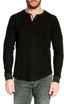 Sol Angeles Mineral Wash Long Sleeve Corduroy Henley