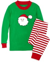 Sara's Prints Infant Unisex Santa Appliqué Pajama Set - Sizes 12-24 Months
