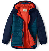 Lands' End Boys Down Parka-Turquoise Bay