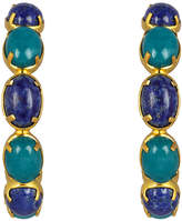 VALERE Jade And Lapis Como Hoops