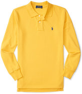 Ralph Lauren Boys' Embroidered Long-Sleeve Polo