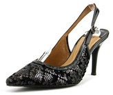 J. Renee Chinaetta Pointed Toe Synthetic Slingback Heel.