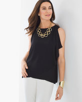 Chico's Shoulder-Drape Tank