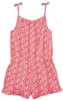 Vineyard Vines Girls' Shell Print Romper - Little Kid