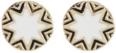 House Of Harlow Sunburst Engraved Stud Earrings