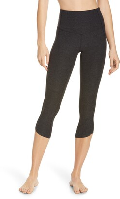 Zella Restore Soft High Waist Tulip Crop Leggings