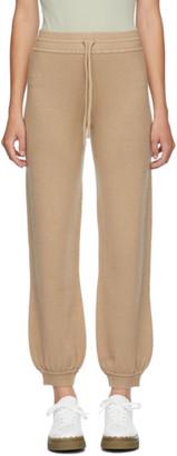 Chloé Beige Cashmere Lounge Pants