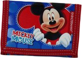 Disney Mickey Mouse Let's Play Wallet Coin Purse Card ID Photos Holder