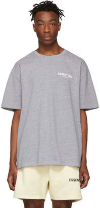 Essentials Grey Logo T-Shirt