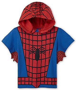 Spiderman Hooded Tee - Boys 2t-5t