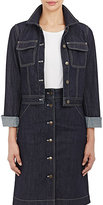 Tomas Maier Women's Denim Jacket-NAVY