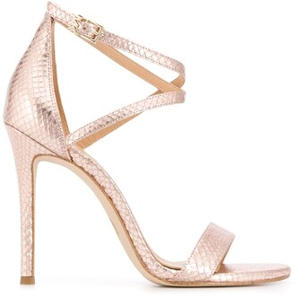 MICHAEL Michael Kors Metallic Strappy Sandals