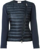 Moncler asymmetric padded jacket - women - Polyamide/Polyester/Spandex/Elastane - XS