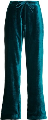 Mira Mikati Velvet Pyjama Trousers