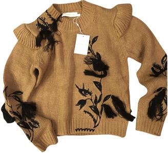 Zimmermann Camel Wool Knitwear