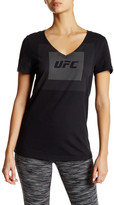 Reebok UFC Fan Tri-Blend V-Neck Tee