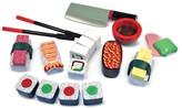 Melissa & Doug Wooden Sushi Slicing Playset