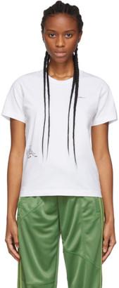 Danielle Cathari SSENSE Exclusive White Cartoon T-Shirt