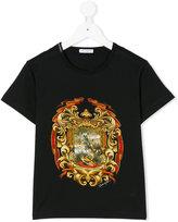 Dolce & Gabbana panther crest print T-shirt
