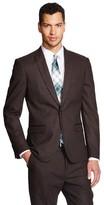 Men's Suit Jacket Brown - WD-NY Black