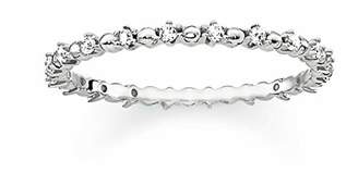 Thomas Sabo Women Silver Piercing Ring - TR2153-051-14-54
