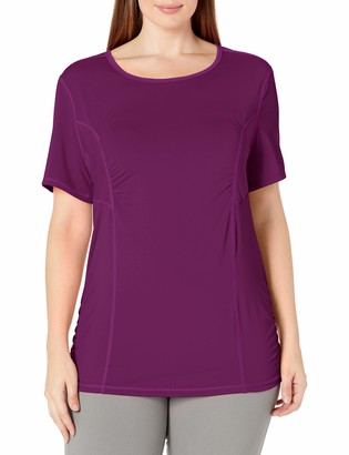 Fit for Me by Fruit of the Loom Women's Plus Size Active Mesh Performance Tee