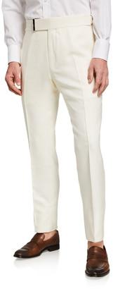 Tom Ford Men's Atticus Silk Trousers