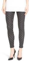 Hue Women's Dot Loafer Skimmer Leggings